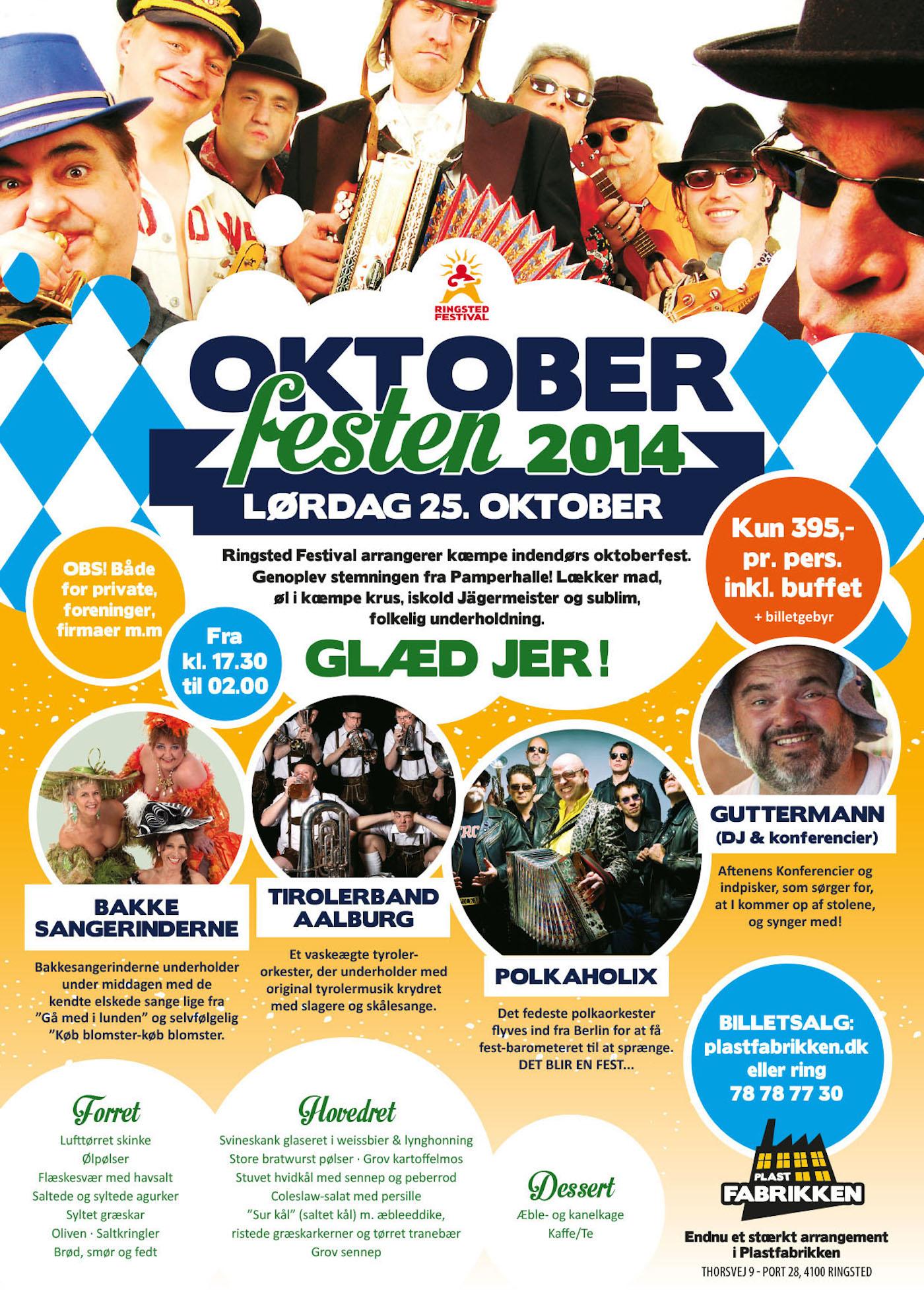 Oktoberfest 2014 | Billetter | Ringsted | Musik | Billetto — Denmark