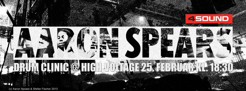 High Voltage Drummer : Aaron spears drum clinic high voltage billetter